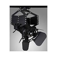 Трековый прожектор на пружине и ноге с патроном Е27