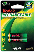 Аккумуляторы Kodak - Rechargeable Battery AAA HR03 Ni-MH 650mAh 1.2V 2/20/200шт