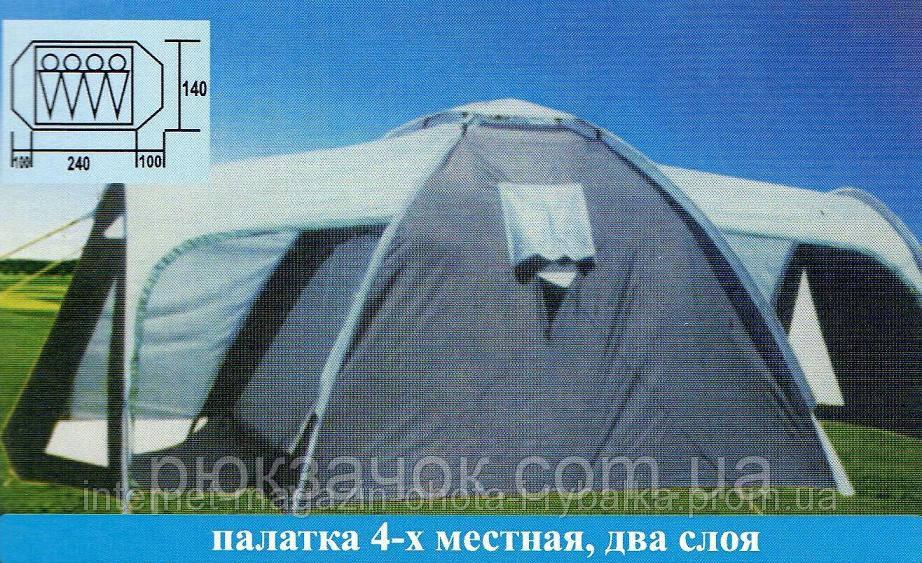 Палатка кемпинговая , Палатка 4-местная Coleman 2906