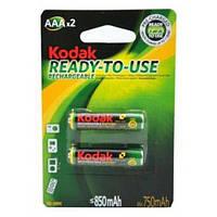 Аккумуляторы Kodak - Rechargeable Battery AAA HR03 Ni-MH 850mAh 1.2V 2/20/200шт