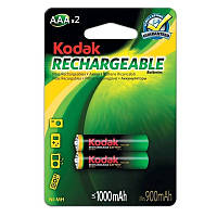 Аккумуляторы Kodak - Rechargeable Battery AAA HR03 Ni-MH 1000mAh 1.2V 2/20/200шт