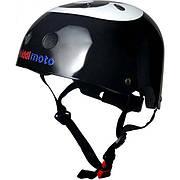 Шлем детский KiddiMoto бильярдный шар, черный, размер M 53-58см