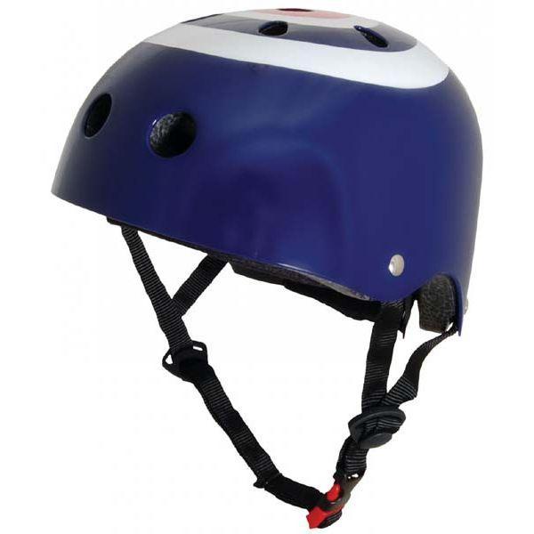 Шлем детский KiddiMoto синяя мишень, размер M 53-58см