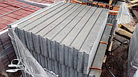 Поребрик (бордюр) 100x20x8cм Серый и Цветной