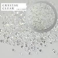 CRYSTAL PIXIE - ПИКСИ для ногтей (кристал), 100 шт