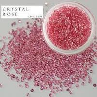 CRYSTAL PIXIE - ПИКСИ для ногтей (цвет светло-розовый), 100 шт