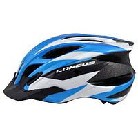 Шлем Longus ERTURIA InMold, синий, сетка, размер S/M, 52-58см