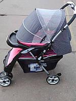 Детская коляска HDX 688A серая
