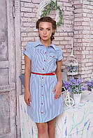 Хлопковое женское платье-халат Изабелла 6 Arizzo 44-52 размеры