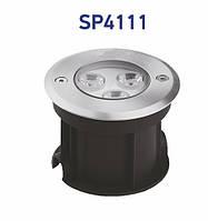 Светильник садово-парковый Feron SP4111 3W 230V  2700K 180Lm, 100*80mm