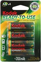 Аккумуляторы Kodak - Rechargeable Battery АА HR6 Ni-MH 2100mAh 1.2V 4/20/200шт