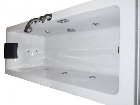 Ванна Apollo прямоугольная с гидромассажем и пневмокнопкой, левая 1800*800*605 мм, фото 2
