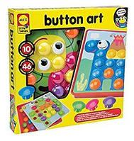 Мозаика для самых маленьких ALEX Toys Little Hands Button Art