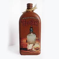 Декоративная бутылка Первак, оригинальный подарок мужчине на день рождения