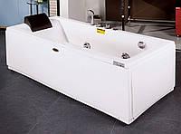 Ванна Apollo прямоугольная с гидромассажем и пневмокнопкой, левая 1800*800*605 мм