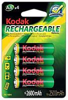 Аккумуляторы Kodak - Rechargeable Battery АА HR6 Ni-MH 2600mAh 1.2V 4/20/200шт