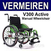 Легкая Активная Инвалидная Коляска. Vermeiren V300 Active Wheelchair