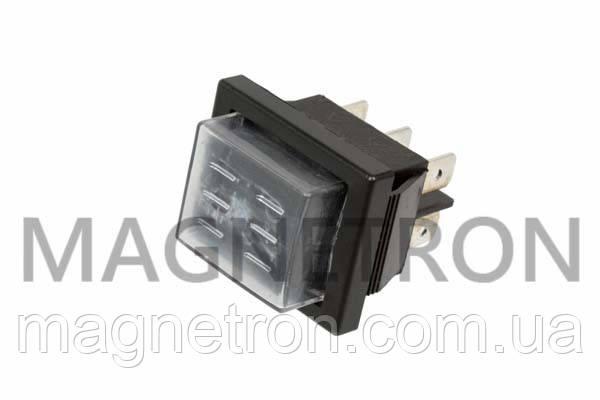 Переключатель клавишный (3 позиции) для обогревателей RK1-01 16A 250V