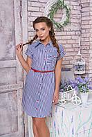 Хлопковое платье-халат Изабелла 32 Arizzo 44-52 размеры