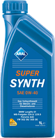 Моторное масло Aral SuperSynth sae 0w40 1л