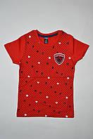 Ростовка футболка хлопчик горох Superior (1-2. 3-4. 5-6. 7-8. червоний 1,75$/шт) DSV