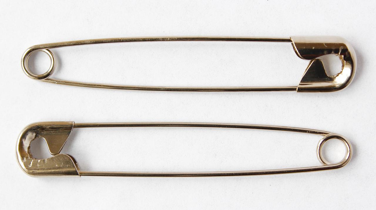 Шпильки англійські, сталь, 54 мм, 10 шт. PRYM, Німеччина