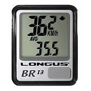 Велокомпьютер Longus BRI-3, 10 функций, черный