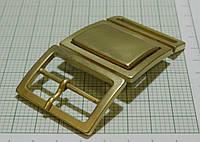 Пряжка (составная) металл (Италия) (матовый, золото)