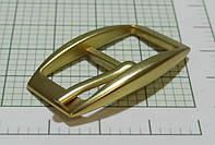 Пряжка (квадрат) металл (Италия) (матовый, золото)