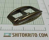 Пряжка (квадрат) металл (Италия) (матовый, латунь)