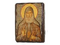 Икона под старину Старец Гавриил