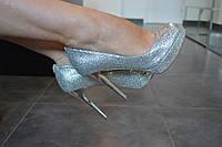 Туфли серебристые MICHAEL Michael Kors