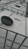 Еврокуб 1000 литров б/у белый (вымытый) на деревянном поддоне
