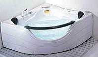 Ванна Apollo угловая с гидромассажем и пневмокнопкой 1520*1520*710 мм