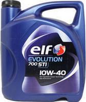 Моторное масло Elf EVOLUTION  700 STI 10W40 5л