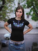 Жіноча вишиванка Фіалка блакитна