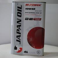 Моторное масло JAPAN OIL Bi-POWER  10W-40 4л