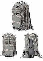 Рюкзак военный тактический штурмовой Molle пиксель