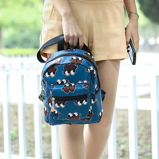 Модный рюкзак с глазками