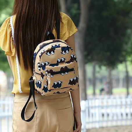 Рюкзак с модным принтом