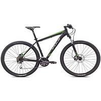 """Велосипед 29"""" Fuji 2015 Nevada 1.4 черный/зеленый, рама 17"""""""