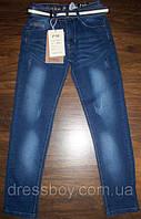 Летние тонкие джинсы с потертостями для мальчиков подростковые 134,140,146,152,158р. из Венгрии