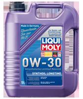 Liqui Moly 0W-30 SYNTHOIL LONGTIME 5л масляный фильтр в подарок