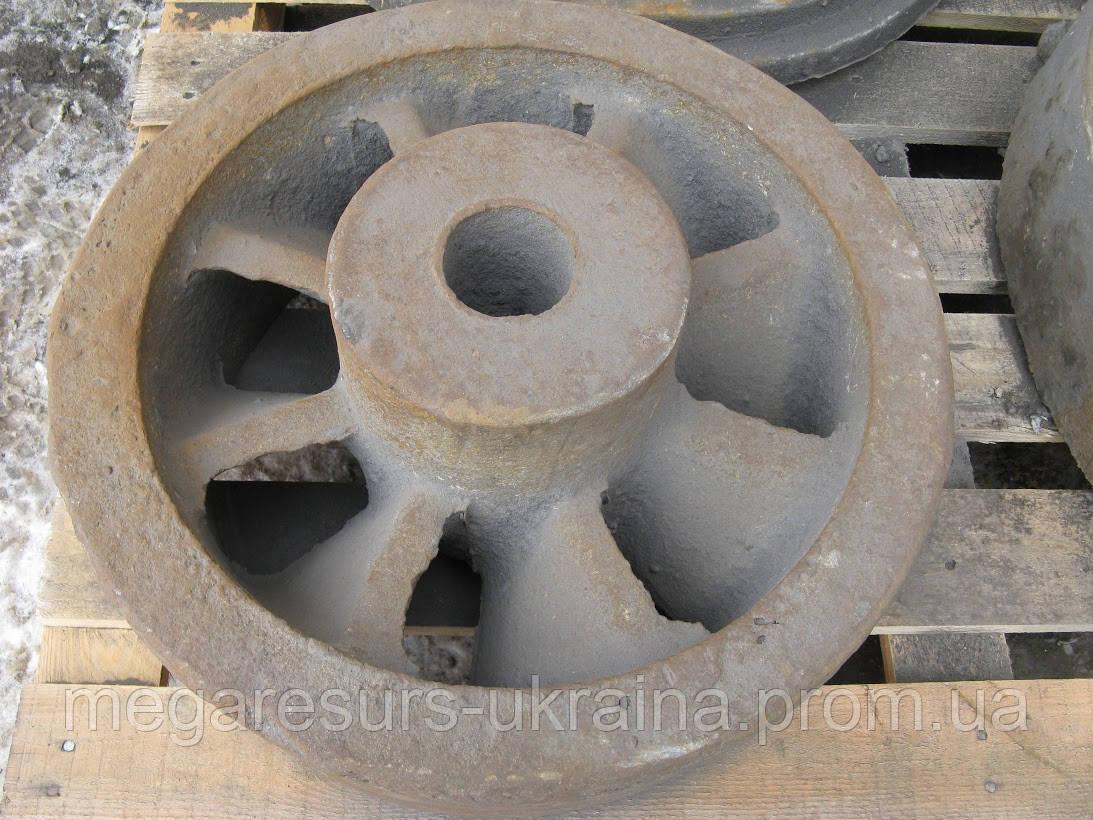 маховик из бетона
