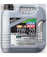 LIQUI MOLY SAE 0W-20 SPECIAL TEC AA 4л масляный фильтр в подарок