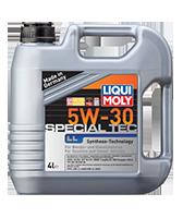 LIQUI MOLY SAE 5W-30 SPECIAL TEC LL  4л масляный фильтр в подарок
