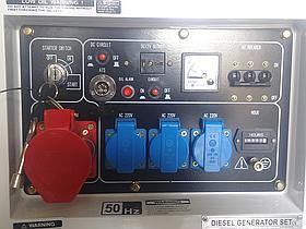 Дизельные генераторы NIK серии DG10000, фото 3