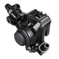 Дисковый механический тормоз Shimano BR-M375 без адаптера (для Postmount 160мм), ОЕМ черный