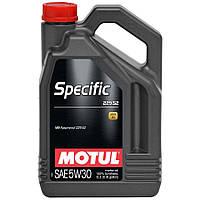 MOTUL SPECIFIC MB 229.52 5W-30 5л