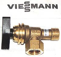 Кран подпитки воды (фирменная упаковка+прокладки) Viessmann Vitopend 100 WH1B, артикул 7825984, код сайта 0497